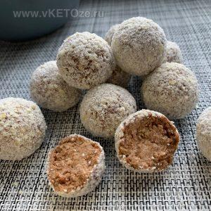 Миндально-кокосовые трюфели